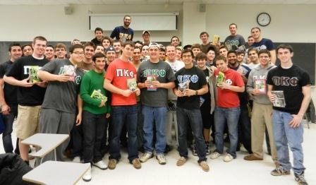 Pi Kappa Phi fraternity partners with the literacy organization Success Won't Wait and volunteer Matt McNeill's to make fourth annual Toys for Tots project a success!