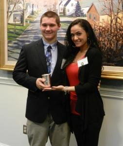 Success Won't Wait literacy volunteer Matt McNeill recognized at National Philanthropy Day celebration