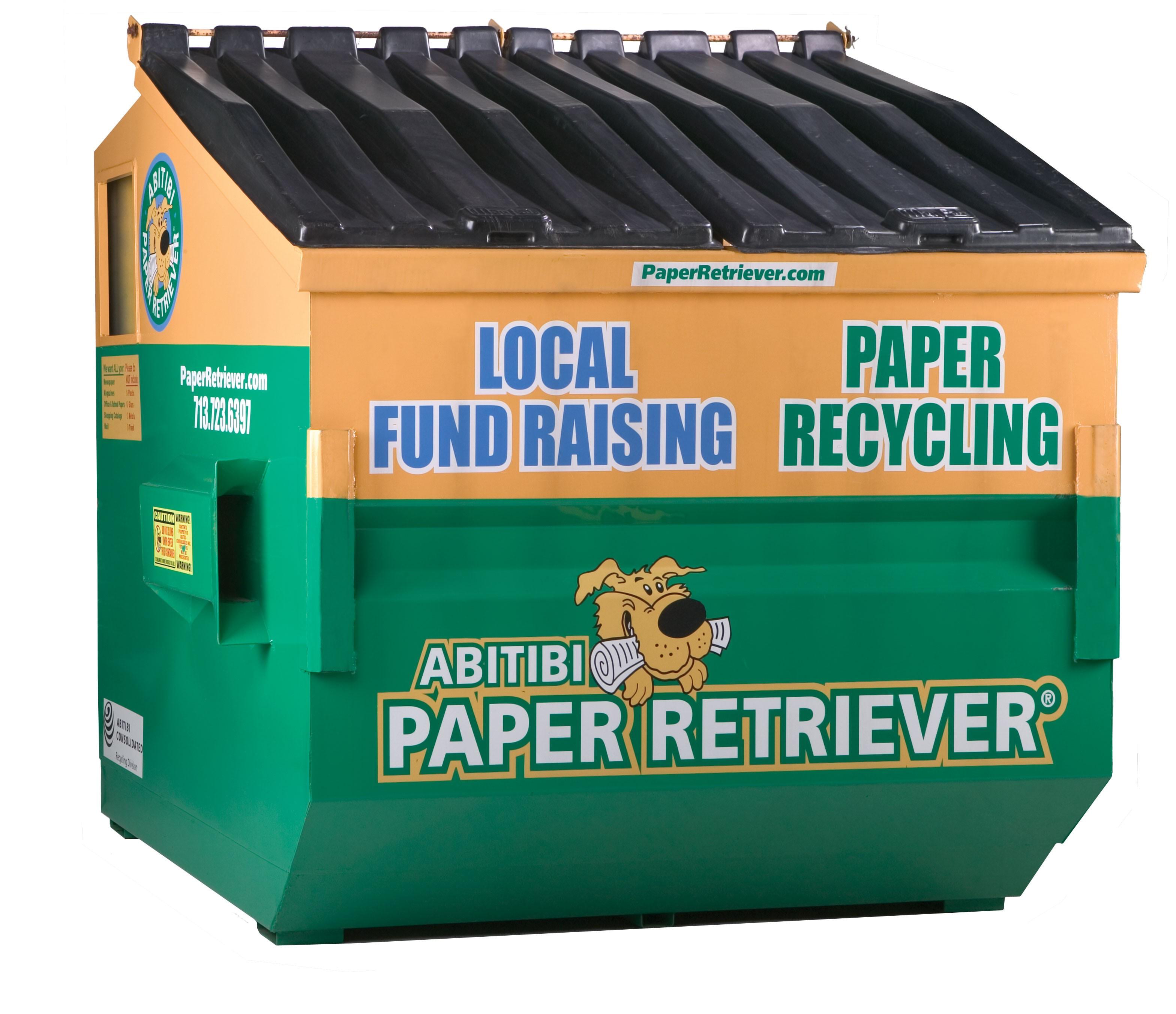 paper retriever bin