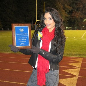 Vincenza Carrieri-Russo is inducted into the A.I. duPont High School Hall of Fame for her outstanding literacy efforts throughout the State of Delaware.