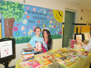 Brandywine Springs School Math Night Spring 2014, Success Won't Wait, Vincenza Carrieri-Russo Miss Delaware United States