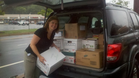 Over 2,000 books were donated to Treasures for Teachers of Philadelphia!