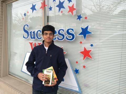 Akhil Rao, Grade 9, Caravel Academy