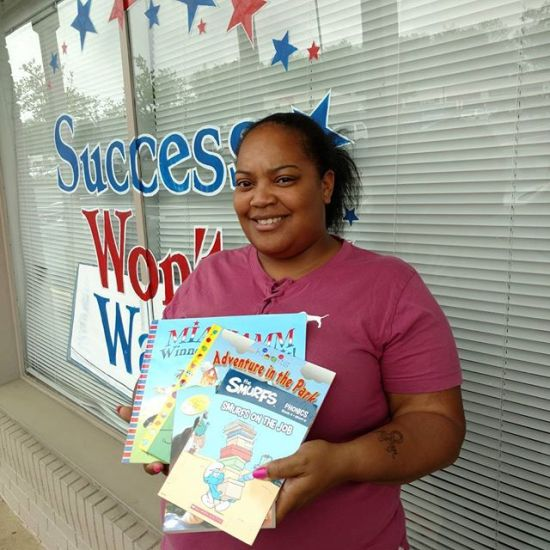 Success Won't Wait literacy organization, Delawarae