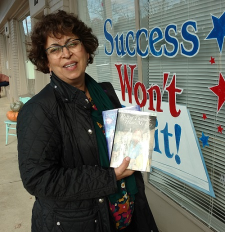 Success Won't Wait's donations to the Friends of the Wilmington Library reaches 18,000 books!
