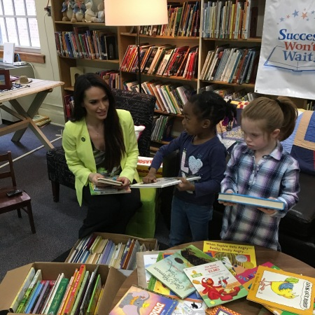 New Castle Elementary School receives almost 600 books from Success Won't Wait