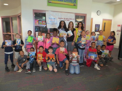 Wilbur Elementary receives almost 1,200 children's books from Success Won't Wait
