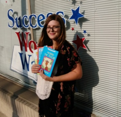 Success Won't Wait donates 100+ books to Creative Health Services in Phoenixville, PA