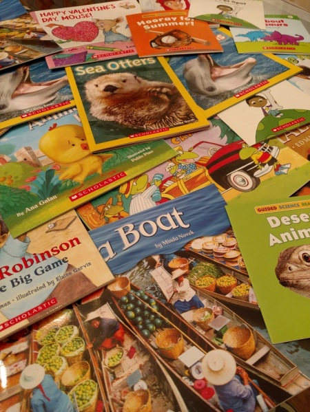 Success Won't Wait receives a book donation of over 1,000 brand new children's books!