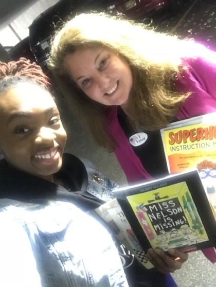 Danya Tiara Woods, M.Ed. Owner and Lead Tutor of So...You Need A Tutor? with Success Won't Wait co-founder Susan Conforte McNeill.