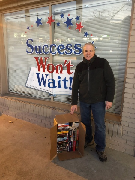 Success Won't Wait provides over 250 books for Stockings for Soldiers!