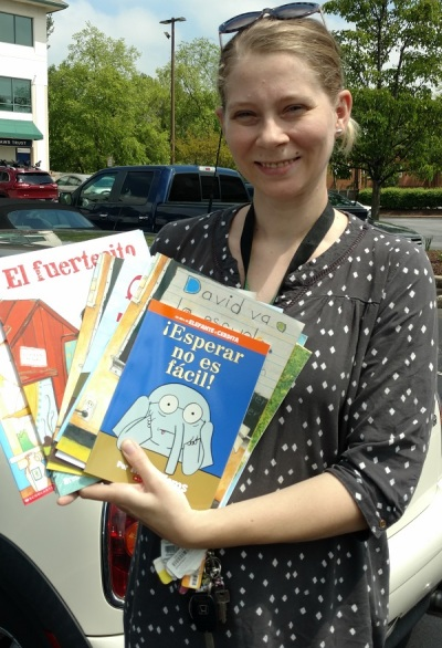 Success Won't Wait donates 200+ books to Wilson Elementary for summer reading