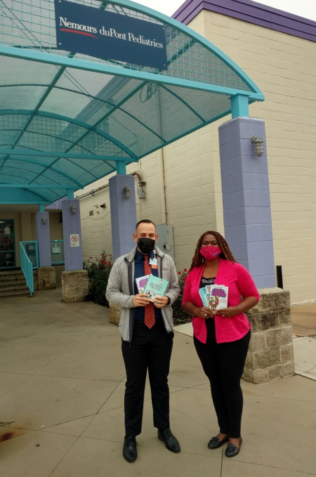 Success Won't Wait donates 150 children's books to Nemours duPont Pediatric Clinic